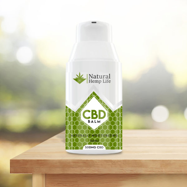 CBD Cream 500mg Table