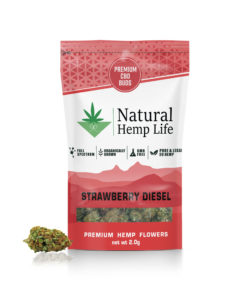 Strawberry Diesel Premium CBD Buds